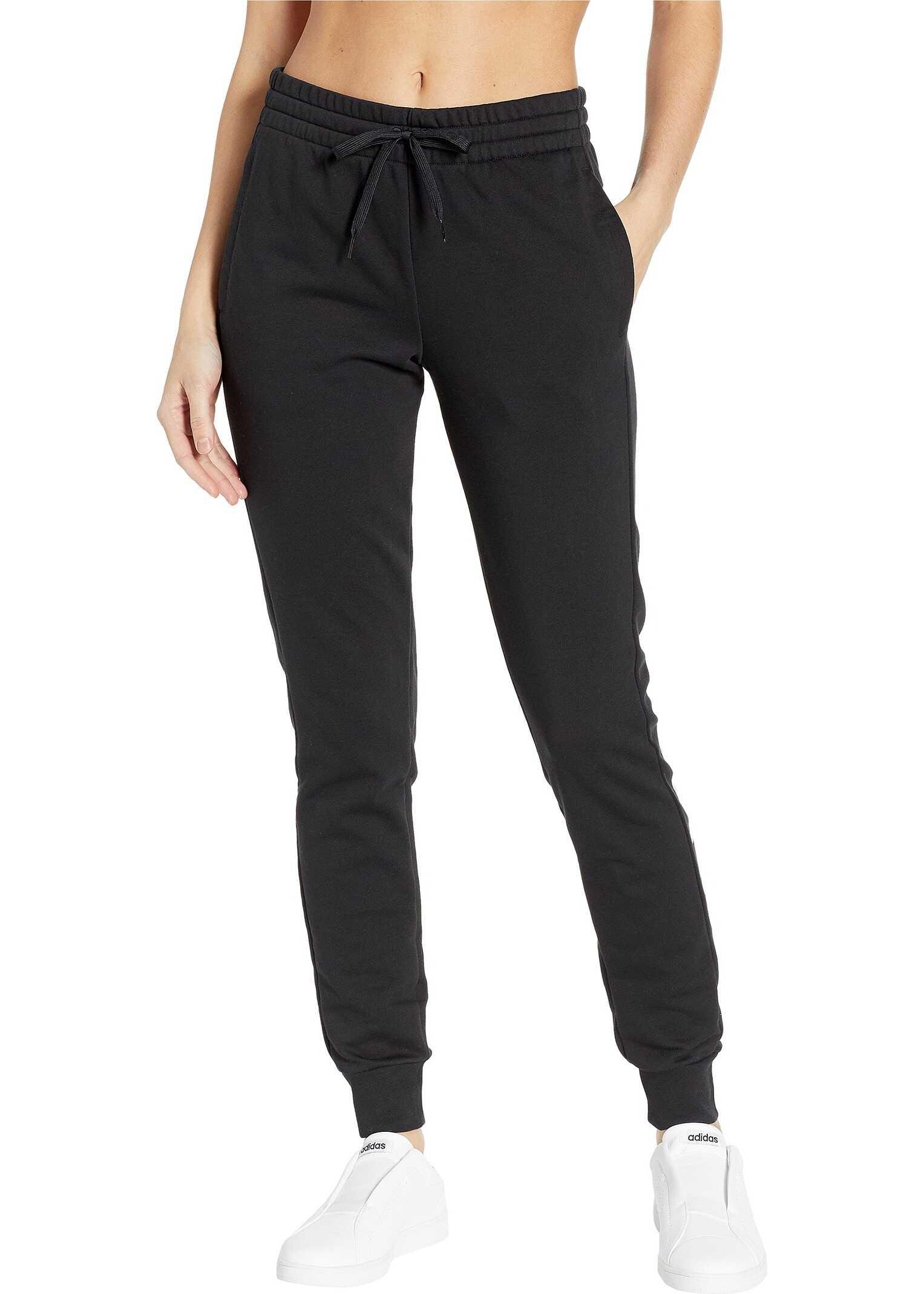adidas Essentials Linear Pants Black/White 1
