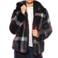 Geci Jacket made of faux-fur* Femei