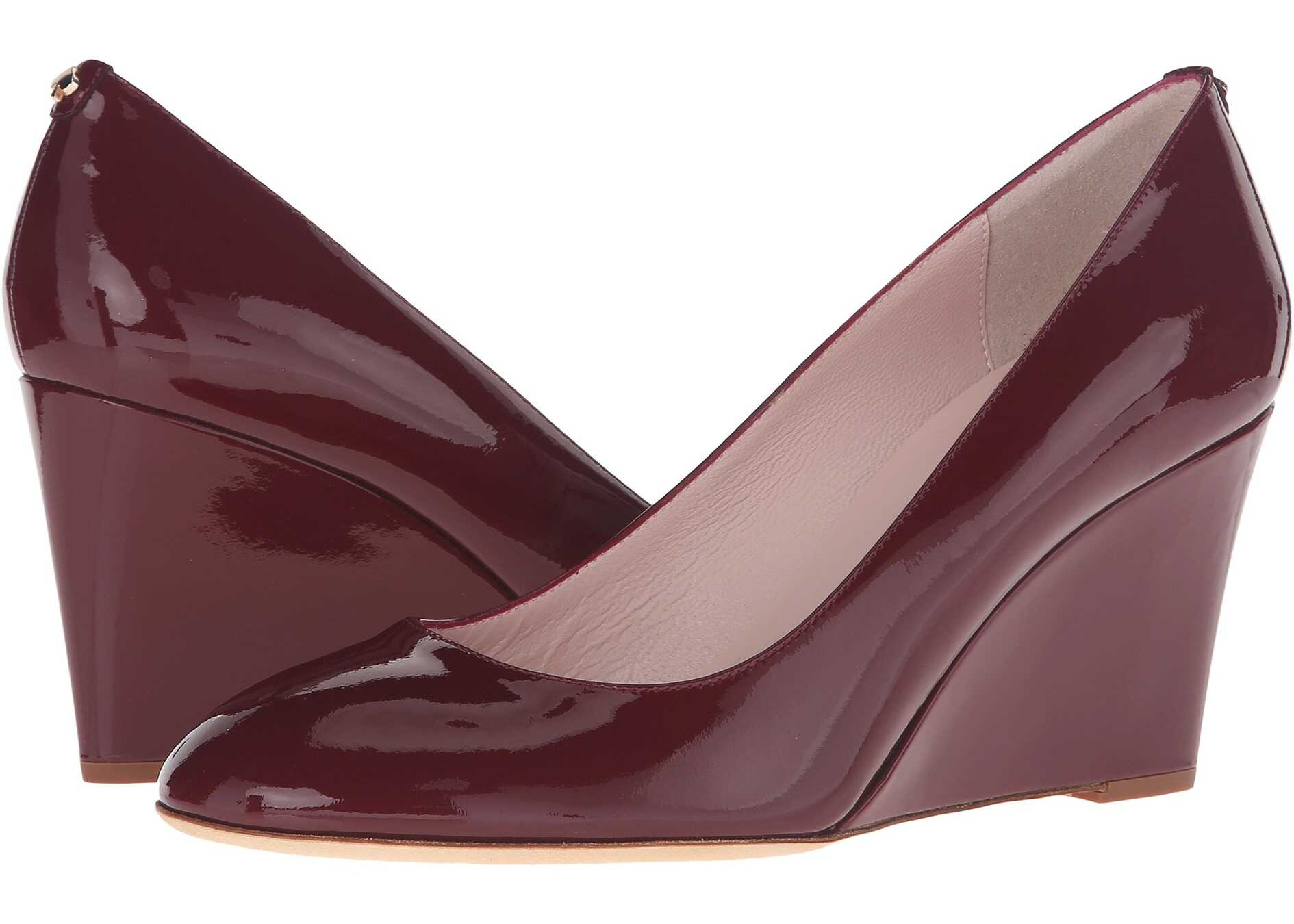Kate Spade New York Amory Red Chestnut Patent