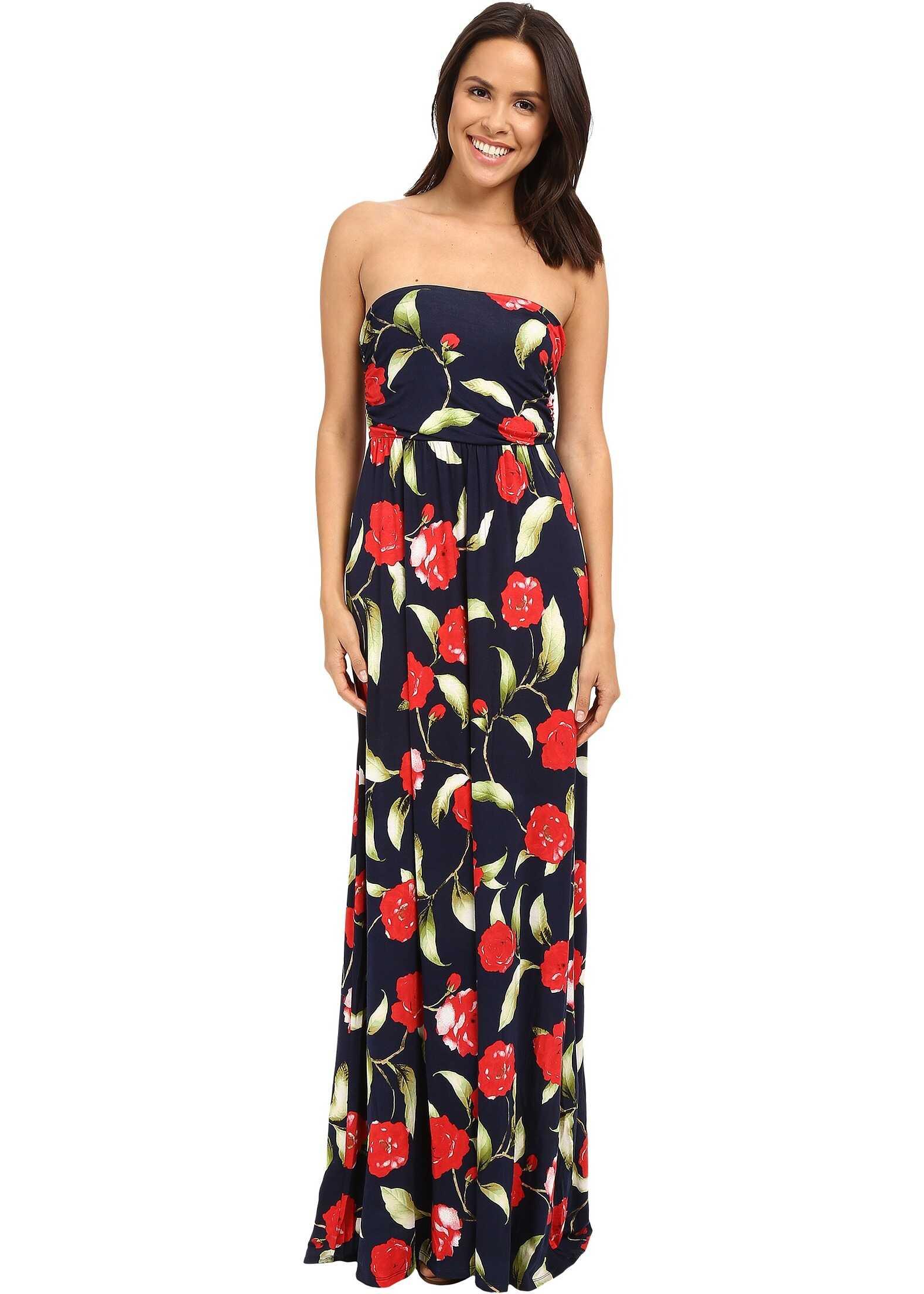 Gabriella Rocha Hally Dress* Navy/Coral