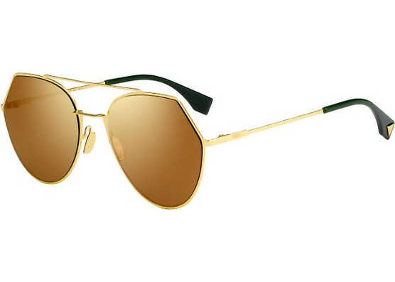 Fendi Ff 0194/s 001/83 YELLOW GOLD