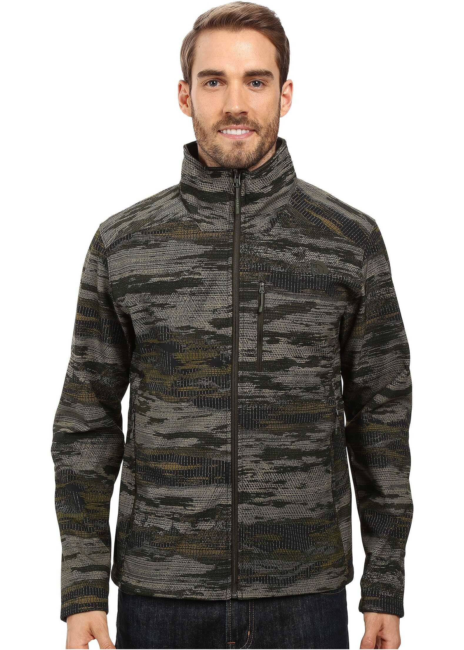 The North Face Apex Bionic 2 Jacket Rosin Green Glamo Print (Prior Season)