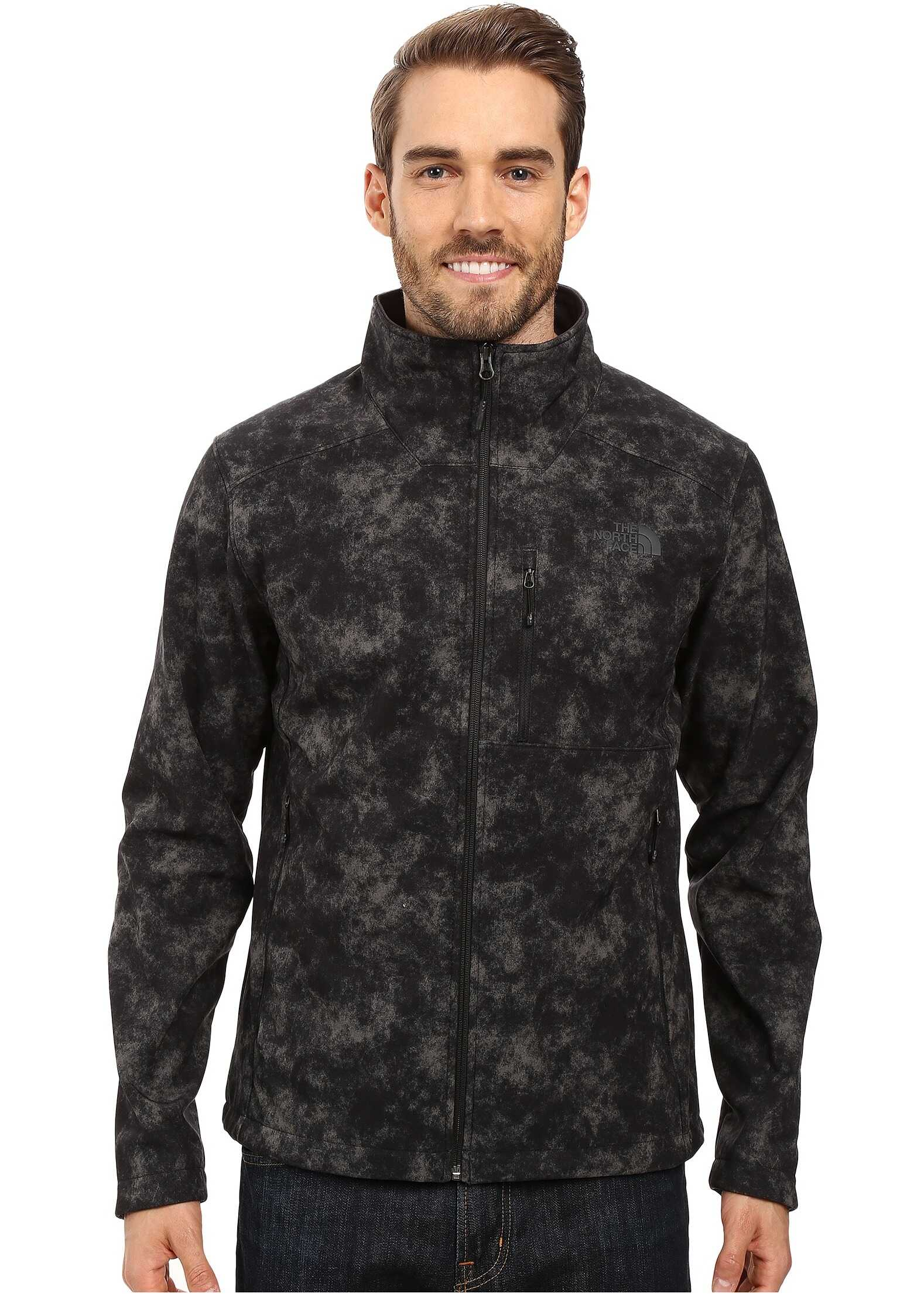 The North Face Apex Bionic 2 Jacket Asphalt Grey Process Print (Prior Season)