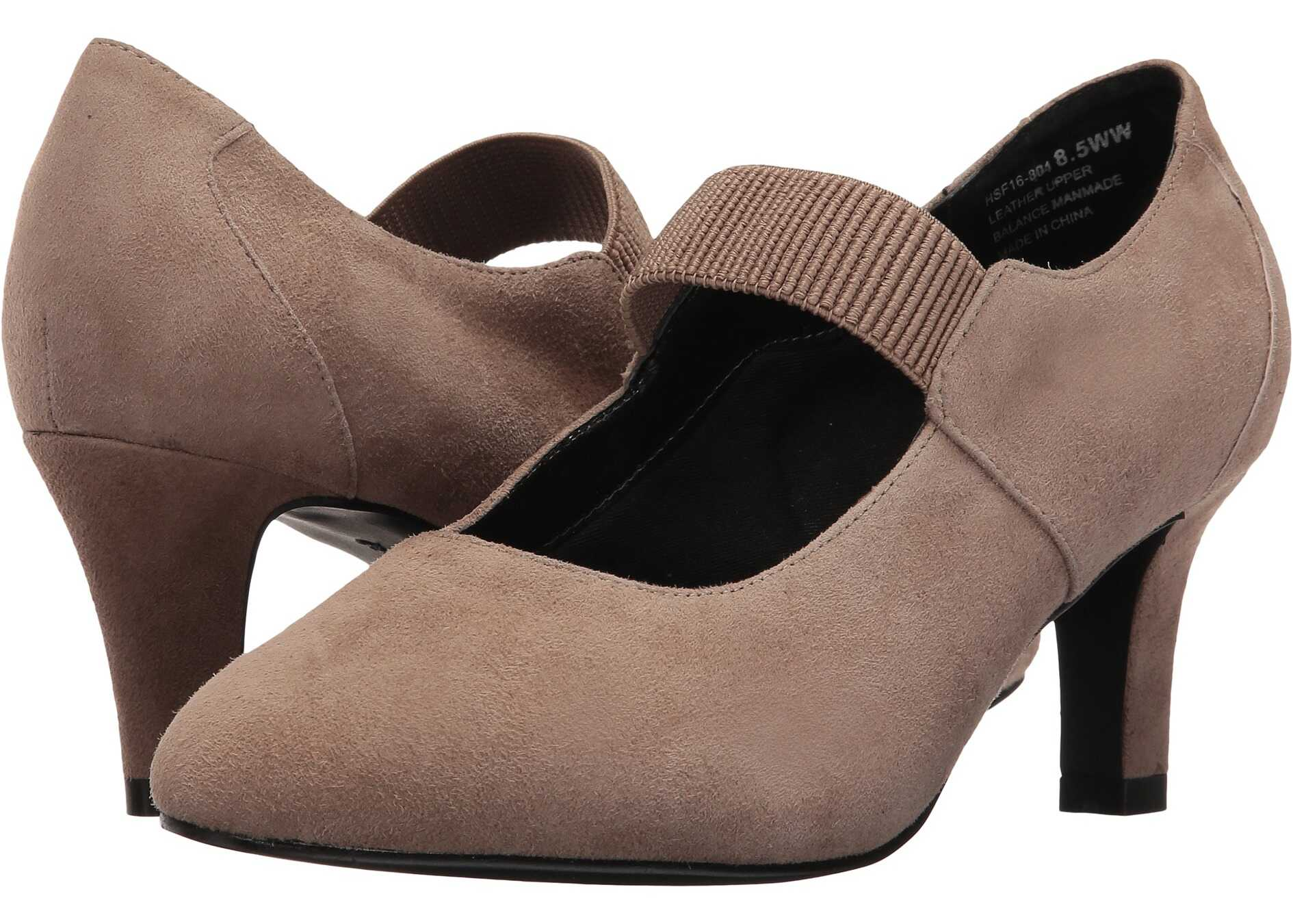 David Tate Dixie Taupe Suede