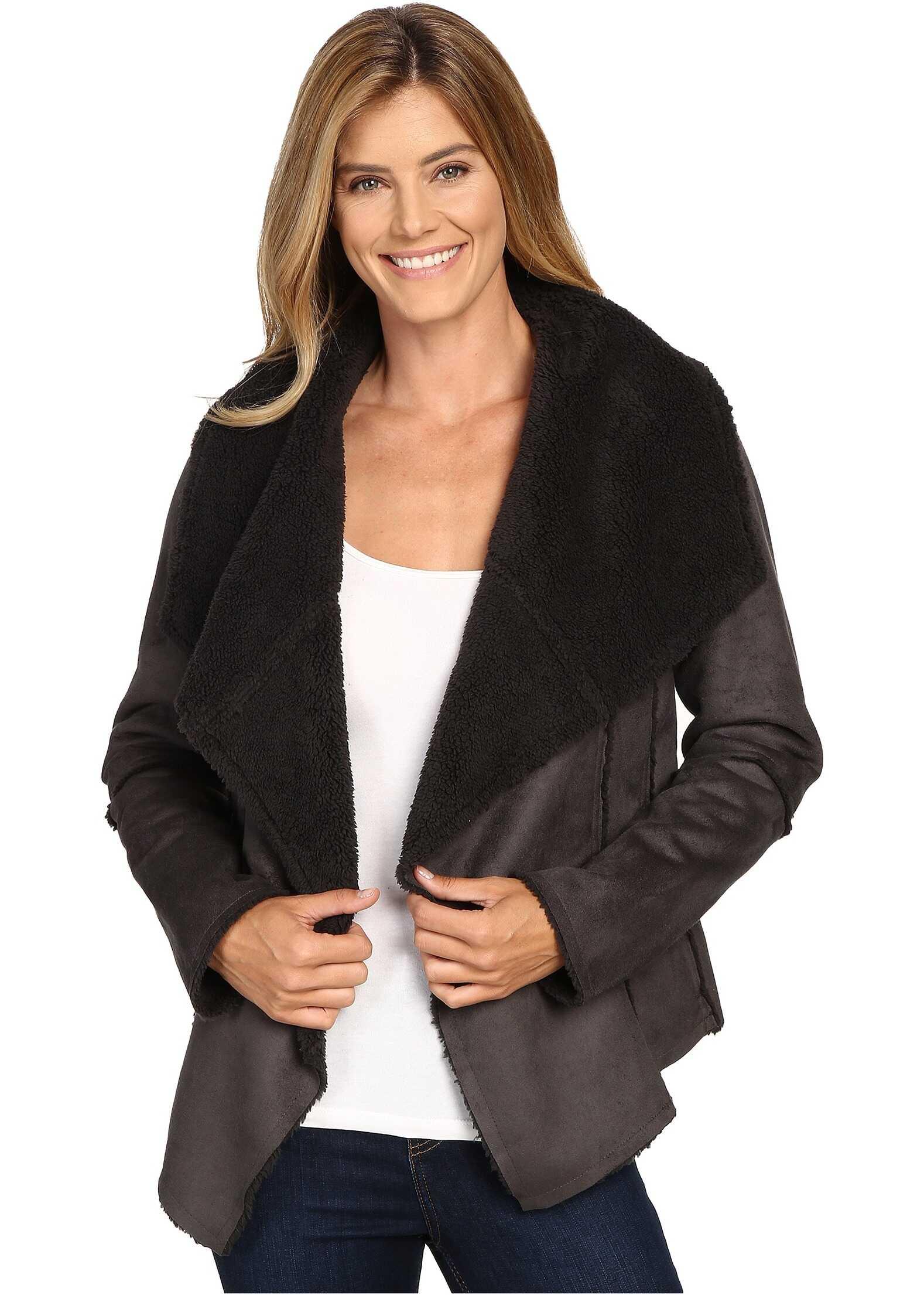 Prana Townie Coat Charcoal
