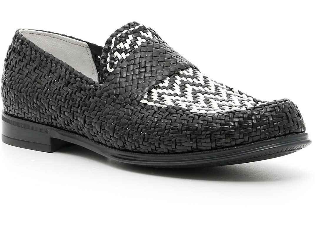 Dolce & Gabbana Genova Loafers BIANCO/NERO