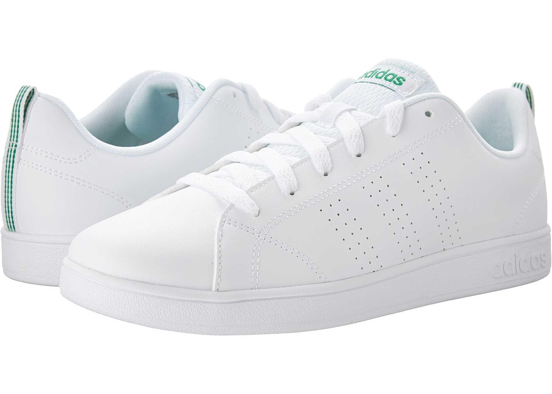 adidas Kids Advantage Clean (Little Kid/Big Kid) White