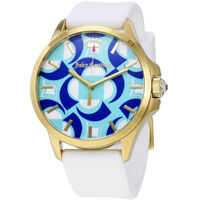 Ceasuri Fashion Jetsetter White and Blue Dial Ladies Watch 1901427 Femei