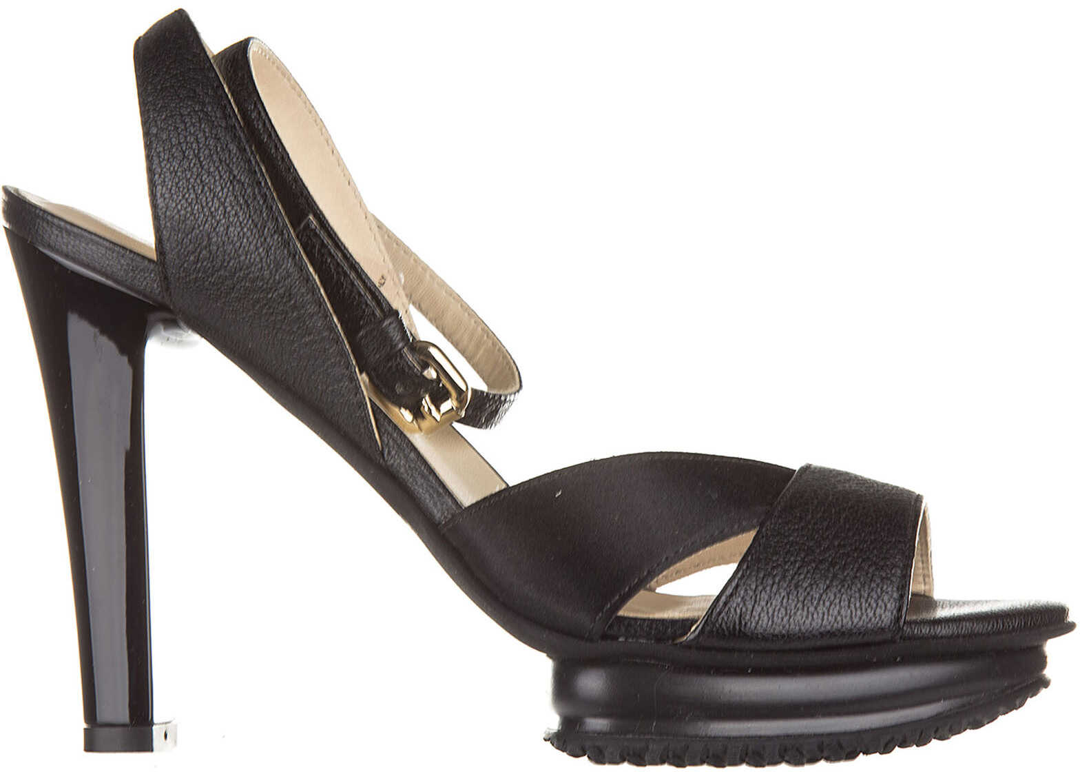 Hogan Heel Sandals Black
