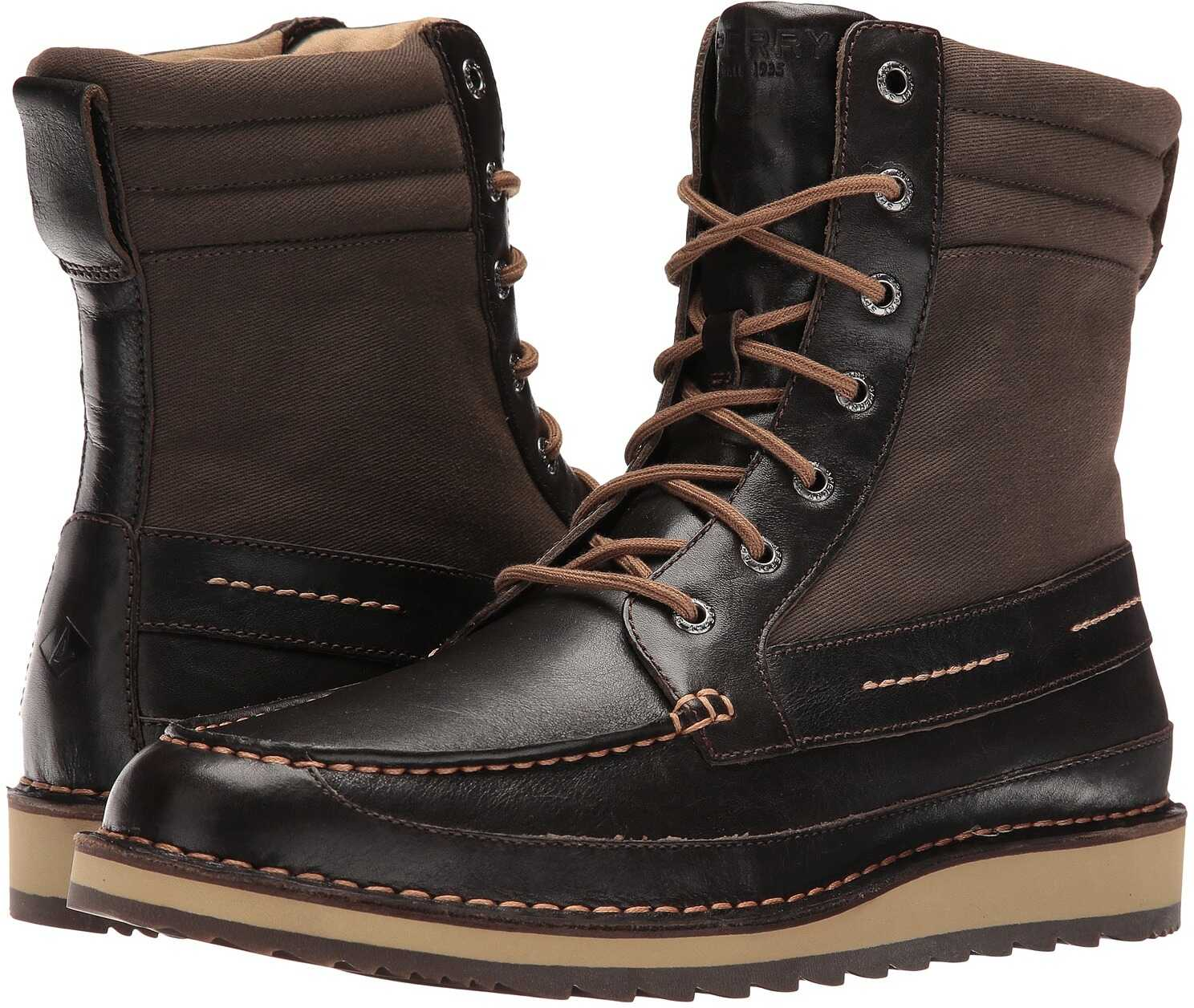 Ghete Barbati Sperry Top-sider Dockyard Boot Dark