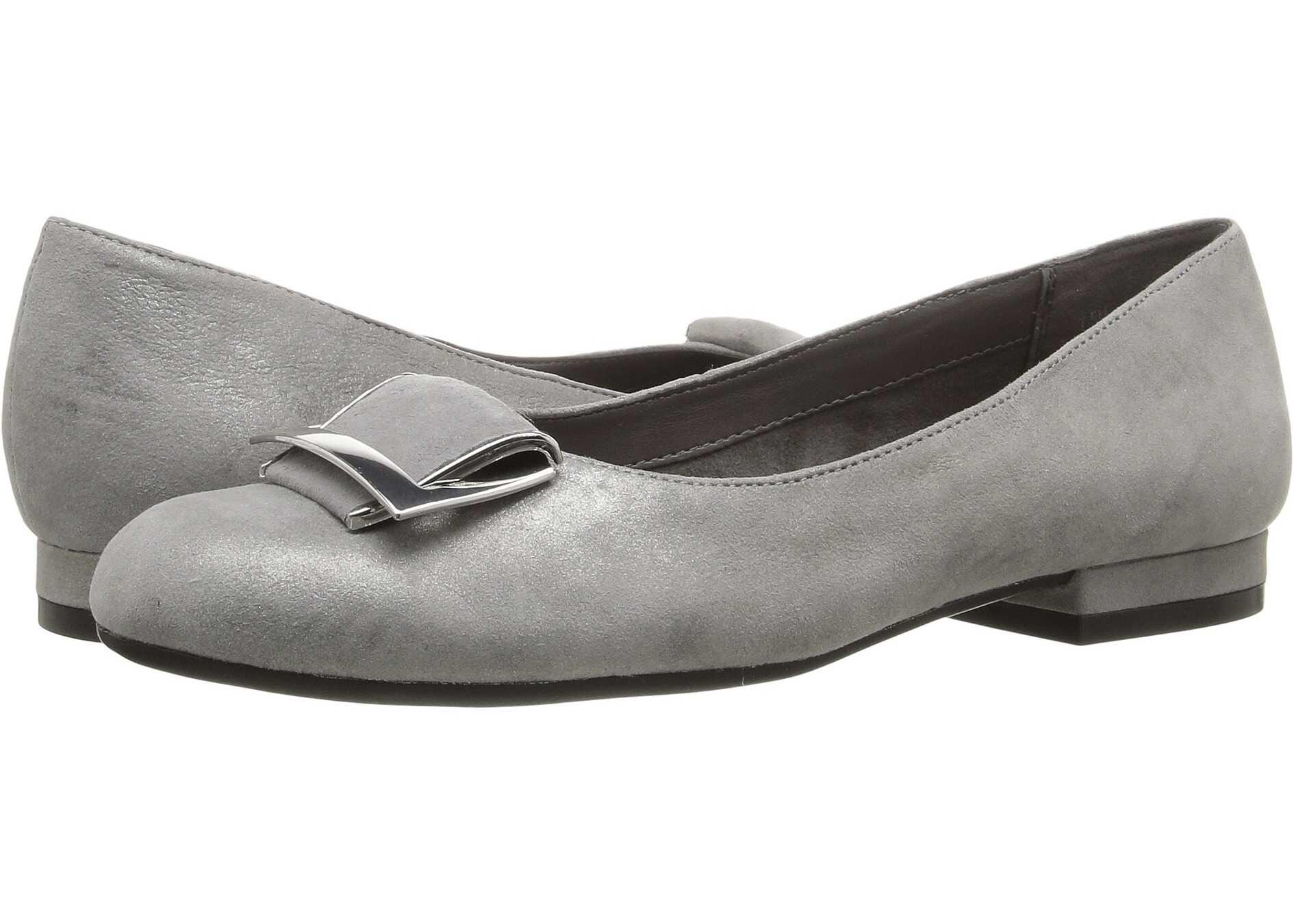 Balerini Femei Aerosoles Good Times Silver Leather