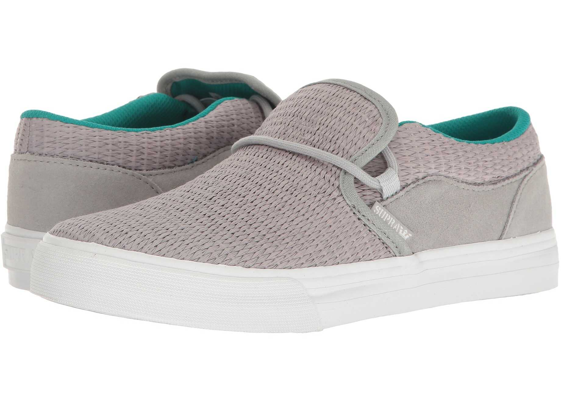 Supra Cuba Light Grey/White