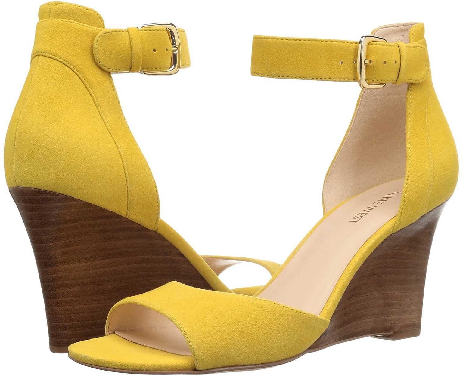 Nine West Farlee Yellow Leather