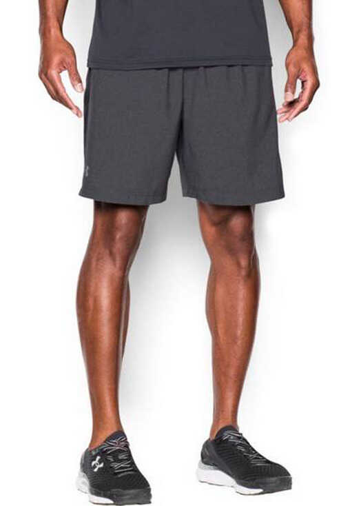 Under Armour Launch Woven 7 Short Grey