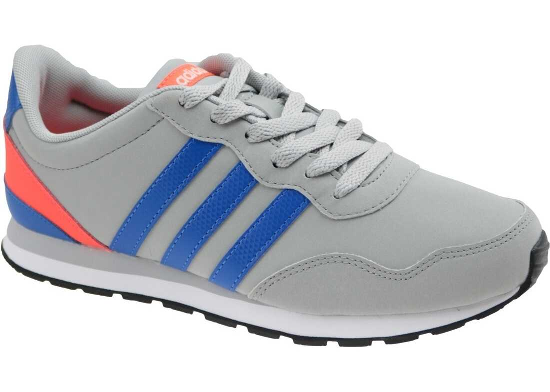 adidas V Jog K Blue,Grey,Orange