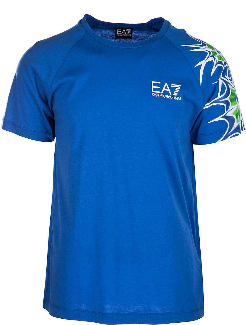 EA7 Jumper Beachwear Blue