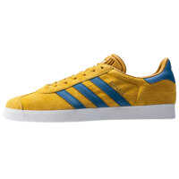 Tenisi & Adidasi Adidas Gazelle Unisex Trainers In Yellow Blue Gold