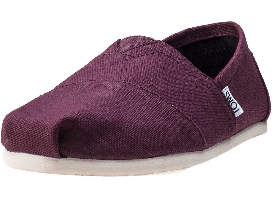 TOMS Seasonal Classics Espadrilles In Red Mahogany Red