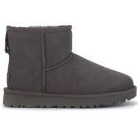 Ghete & Cizme Classic Ii Mini Ankle Boots In Grey Suede Femei