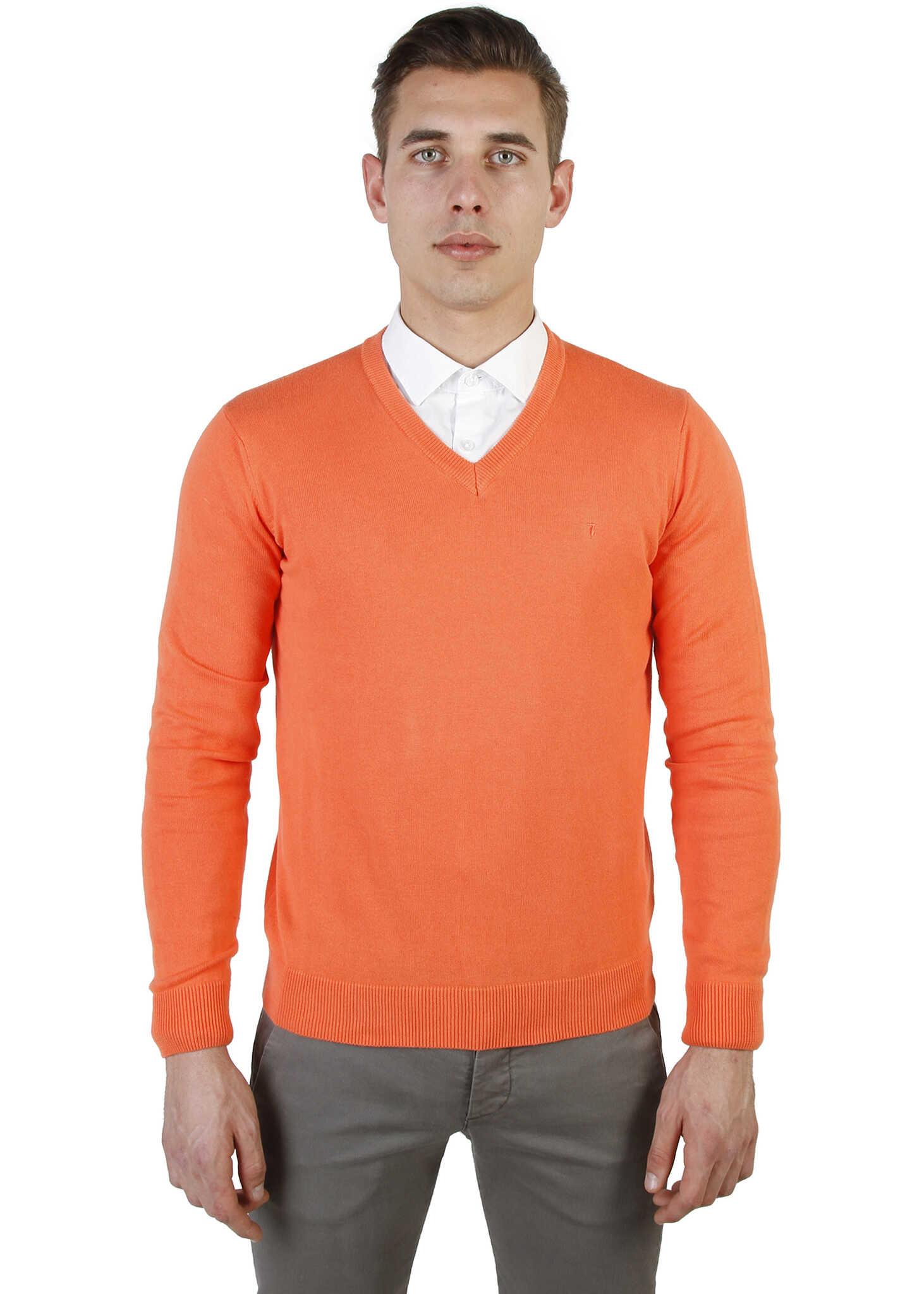Pulover Barbati Trussardi 32m04int53 Orange