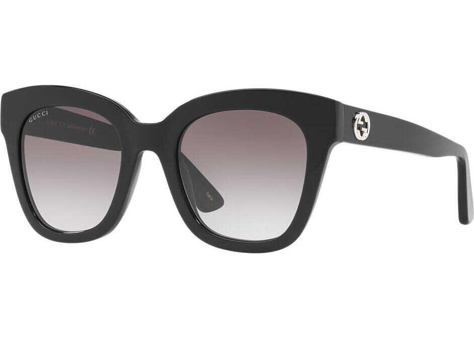 Gucci GG0029S 001-BLACK-BLACK-GREY