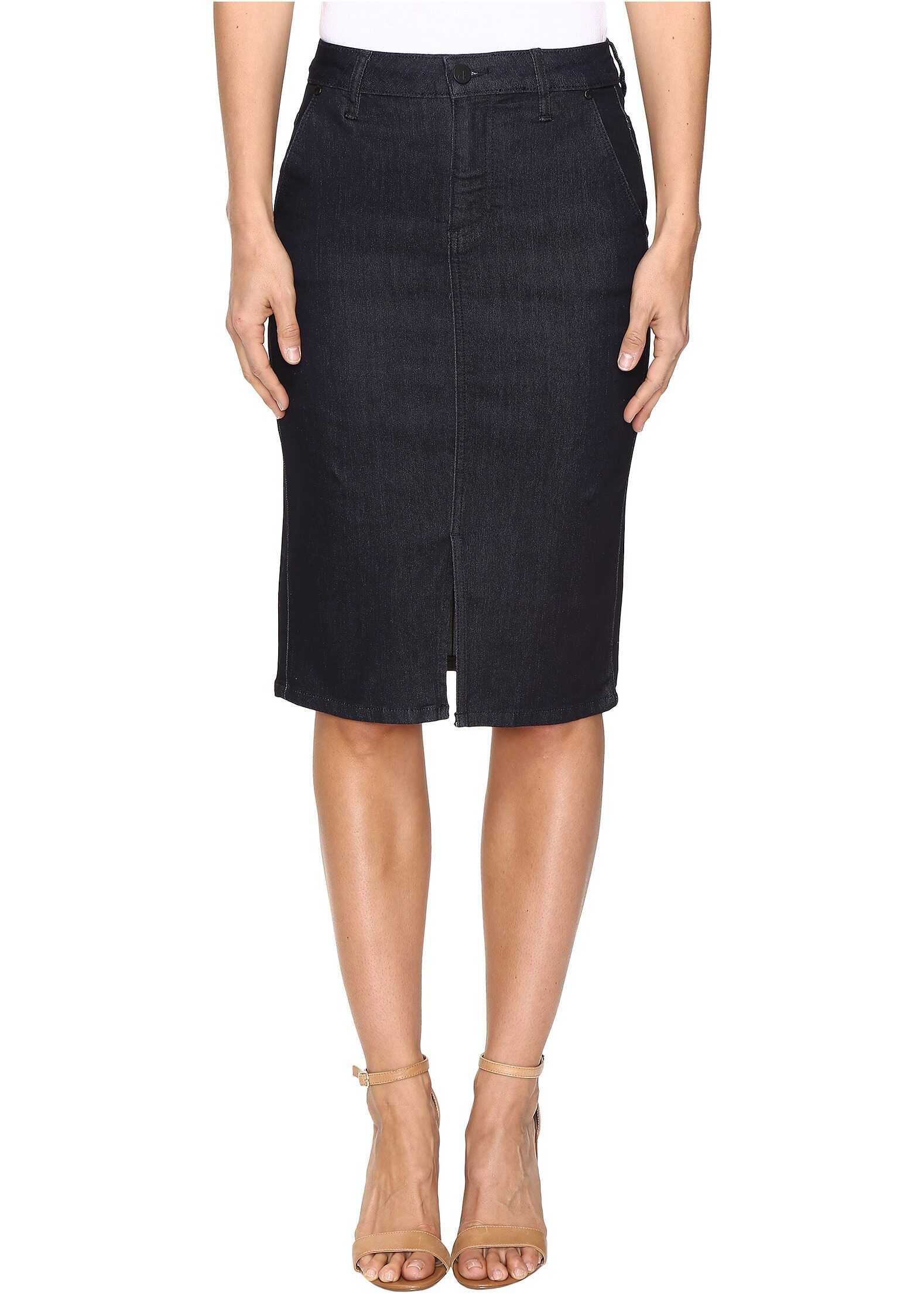 Fusta Femei Calvin Klein Jeans Pencil Skirt Rinse