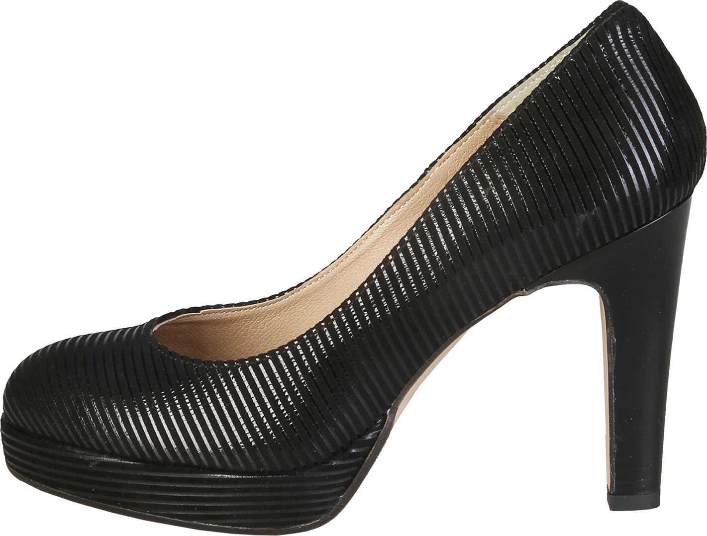 Pantofi Cu Toc Versace 1969 Melodie Black