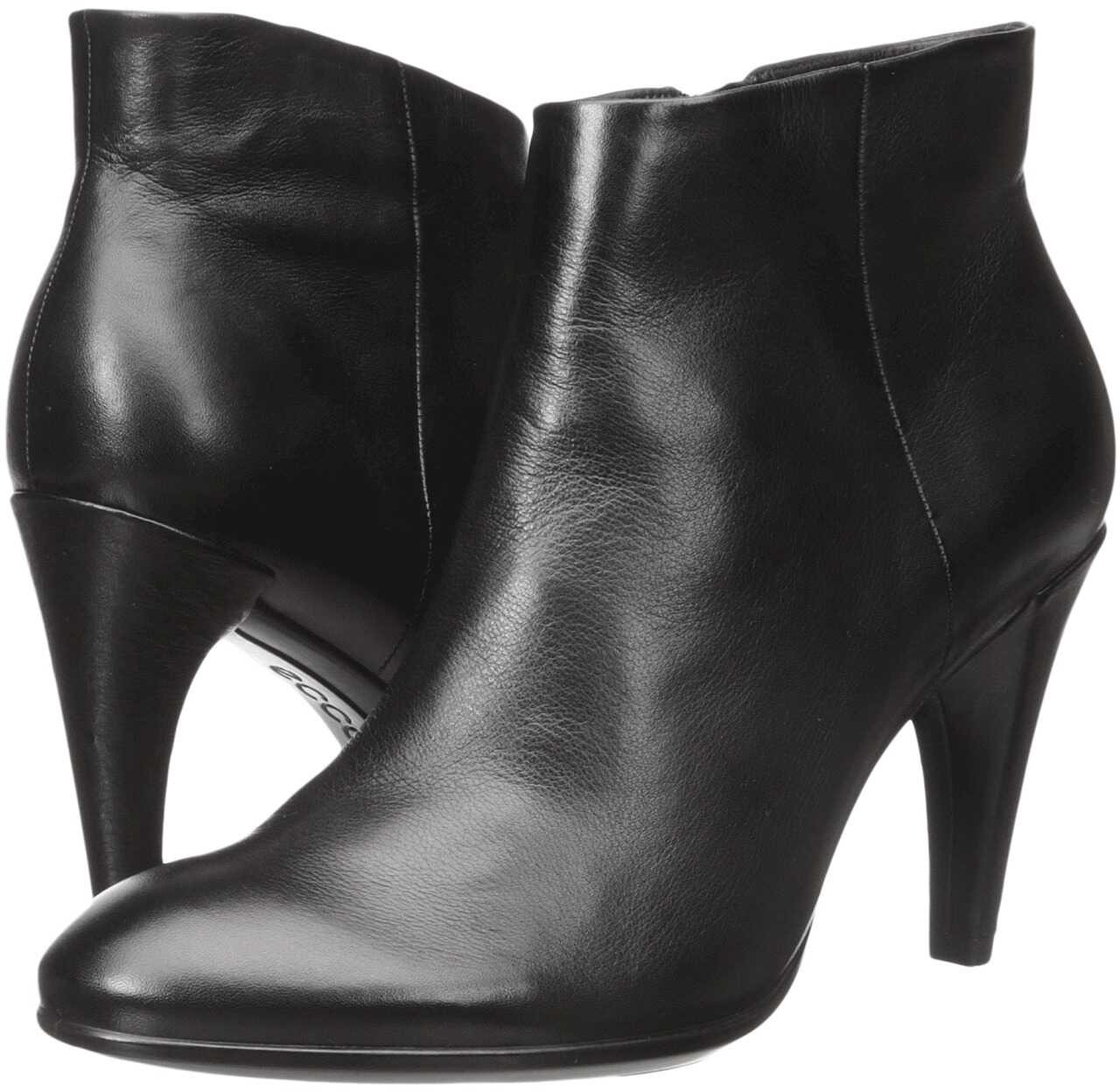 ECCO Shape 75 Sleek Ankle Black Calf Leather