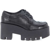 Pantofi Oxford Stringata Windsor Smith Foxy Ws In Pelle Nera Femei
