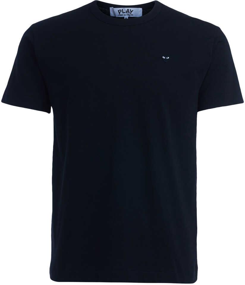 Comme des Garçons Play T-Shirt Comme Des Garçons Play Nera Cuore Black