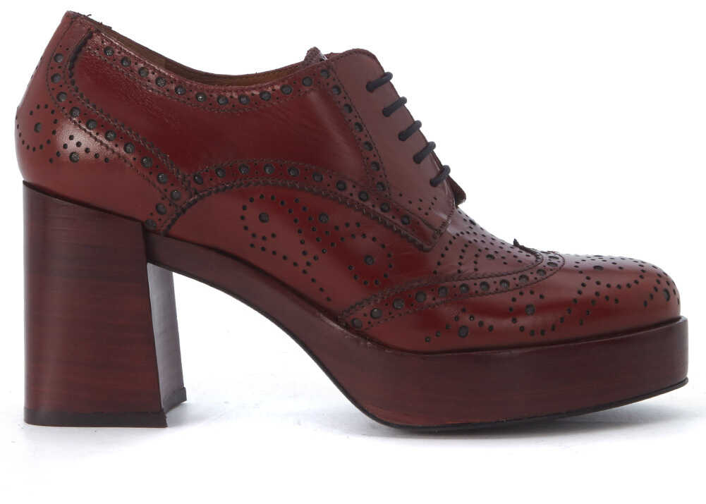 Pantofi Cu Toc Pons Quintana Oxford Lace Up Shoes