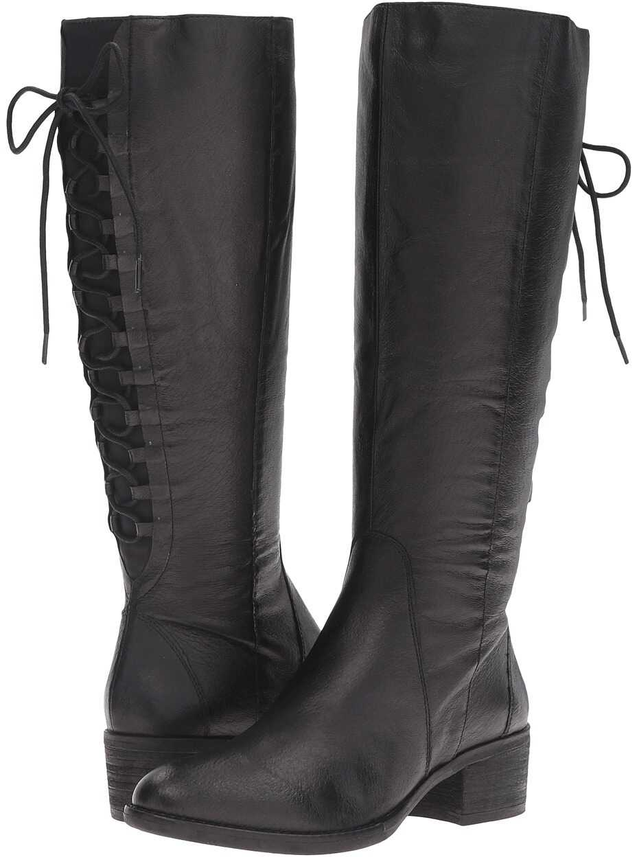 Steve Madden Laceupp Black Leather