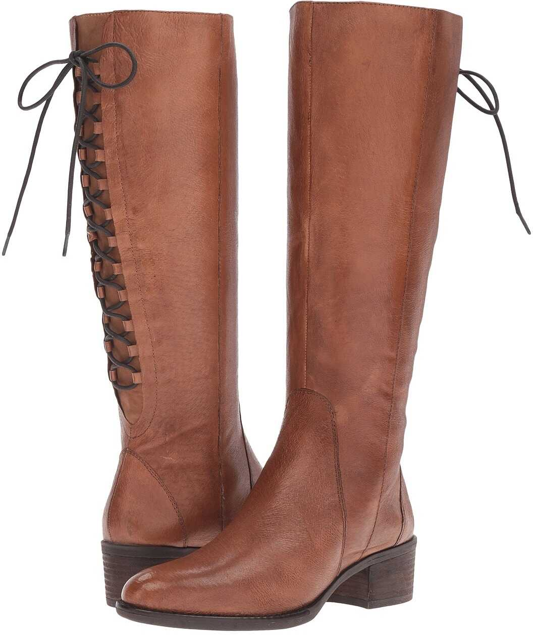 Steve Madden Laceupp Cognac Leather