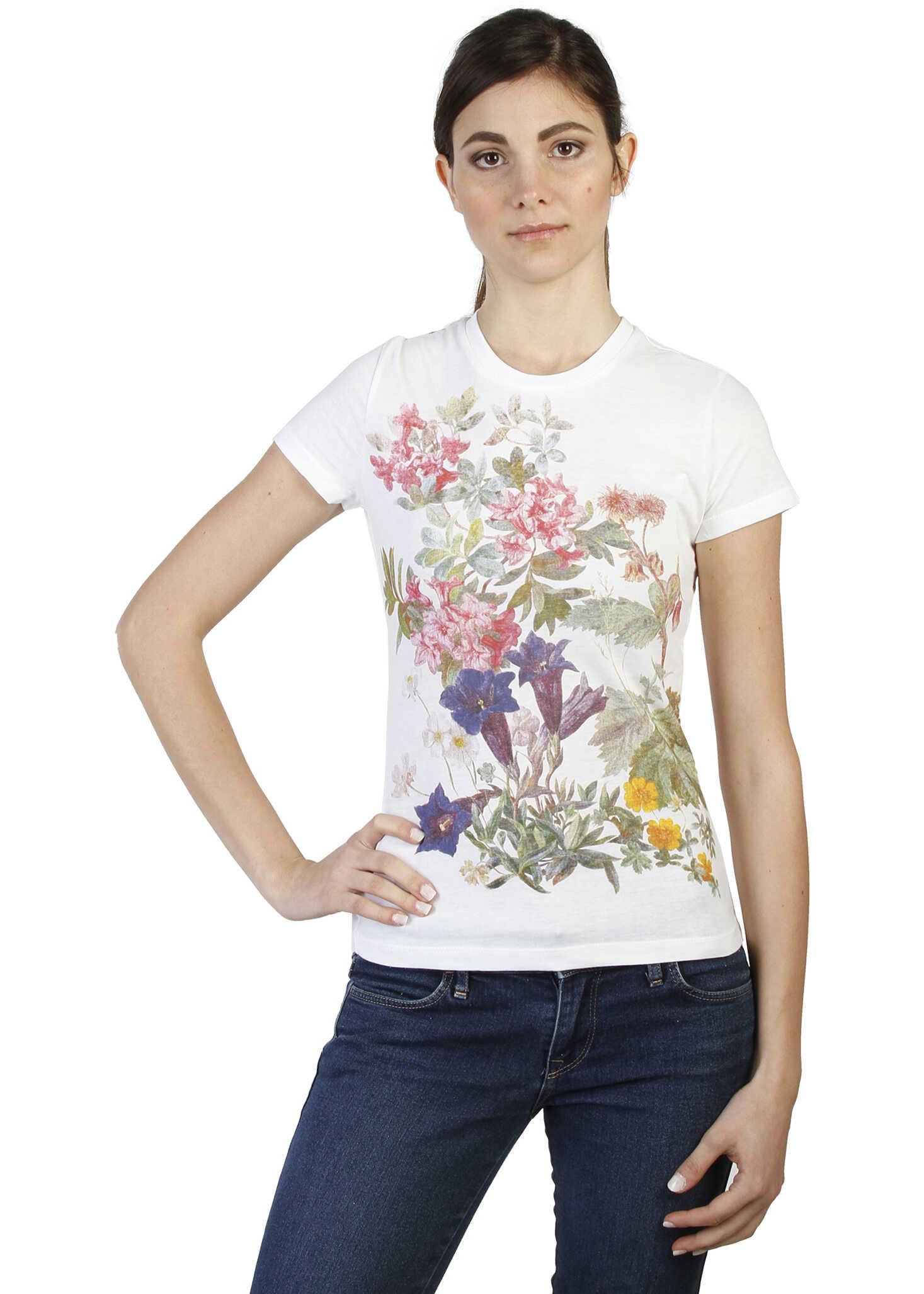 Tricou Femei Trussardi 2bt02 White