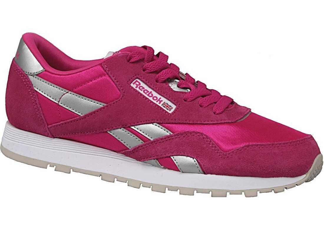 Reebok Cl Nylon Pink,Silver
