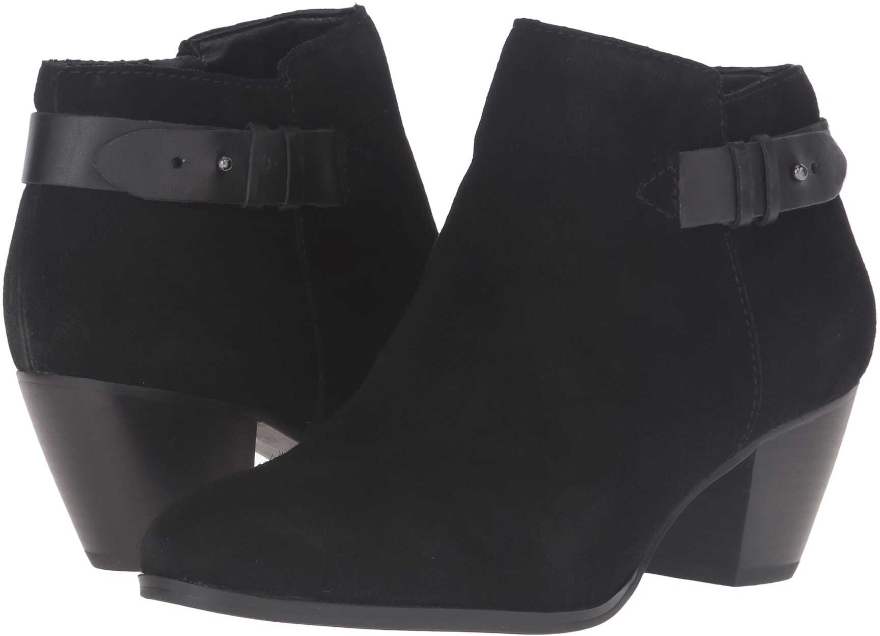 GUESS Geora Black Suede