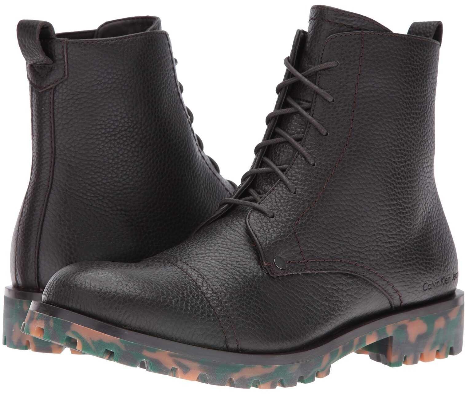 Calvin Klein Jeans Nex Mocha Thicker Grainy Leather