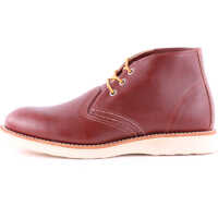 Ghete & Cizme Work Chukka Boots In Dark Red (Style No. 3139) Barbati