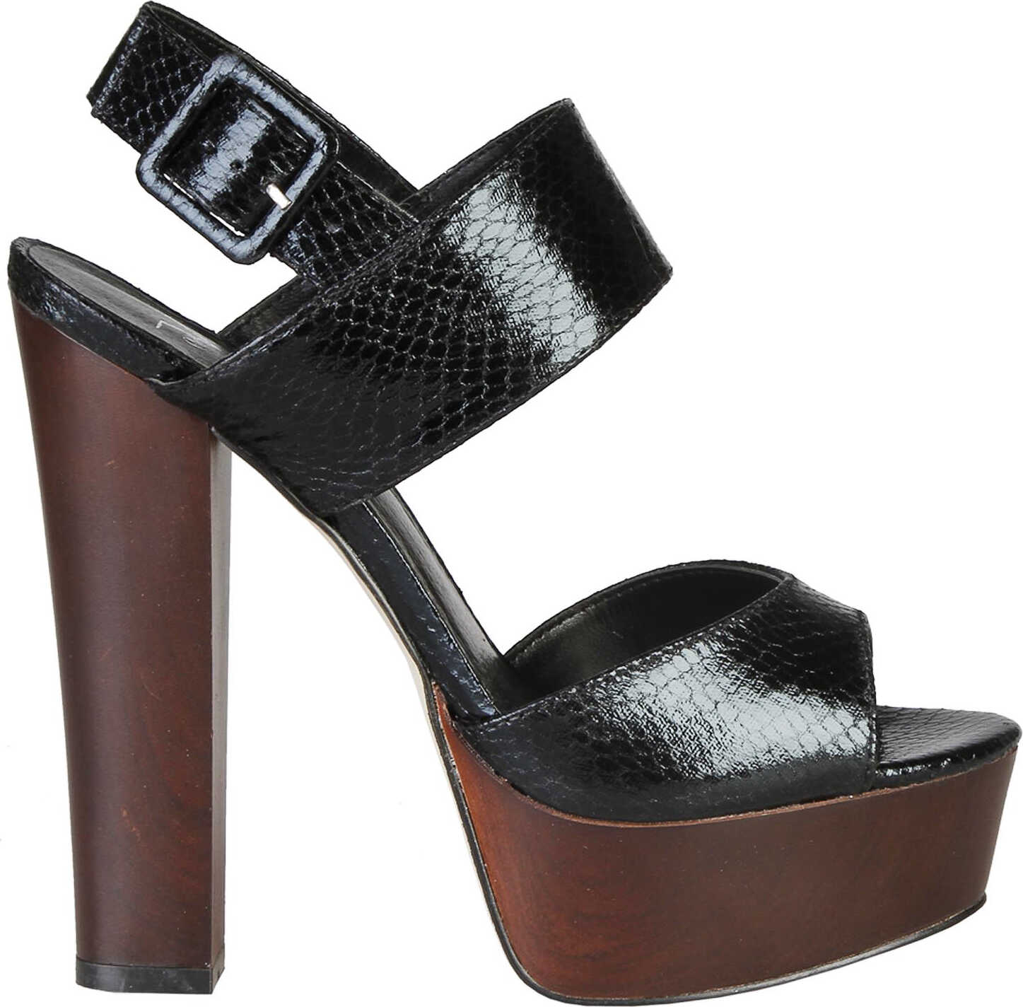 Sandale Femei Versace 1969 Celestine Black