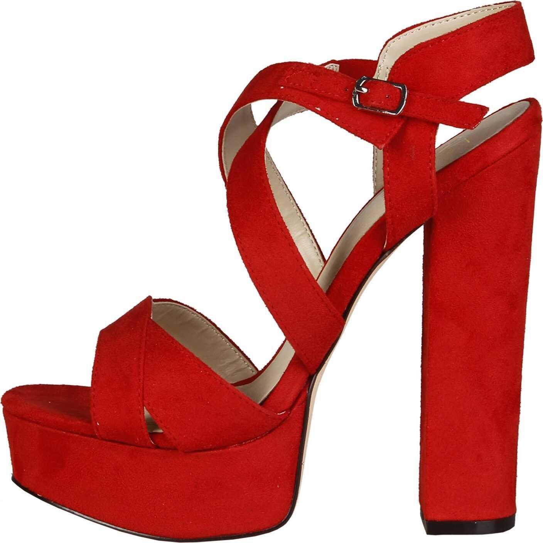 Sandale Femei Versace 1969 Desiree Red