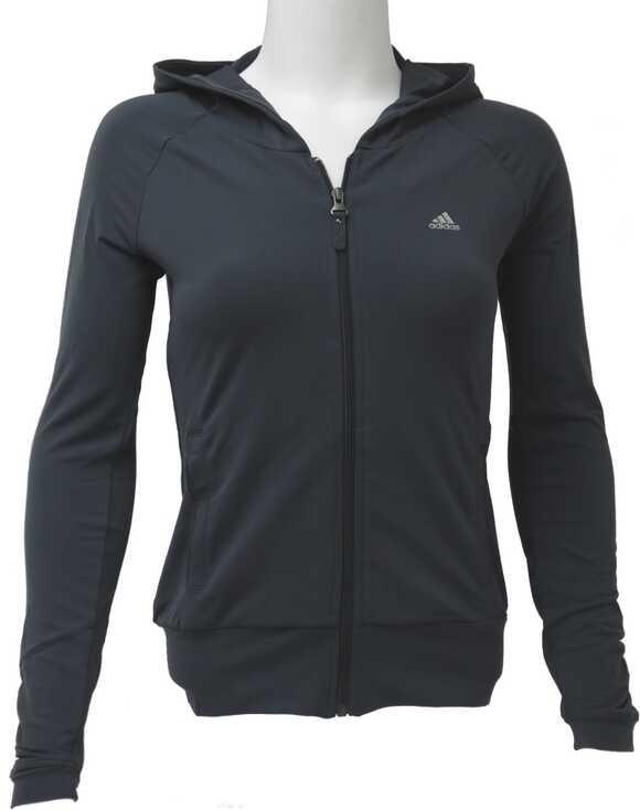 Bluza Sport Femei Adidas Ya St Hooded Tracktop Gre