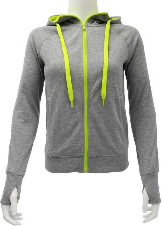 Bluza Sport Femei Adidas Prime Fz Hoody Grey