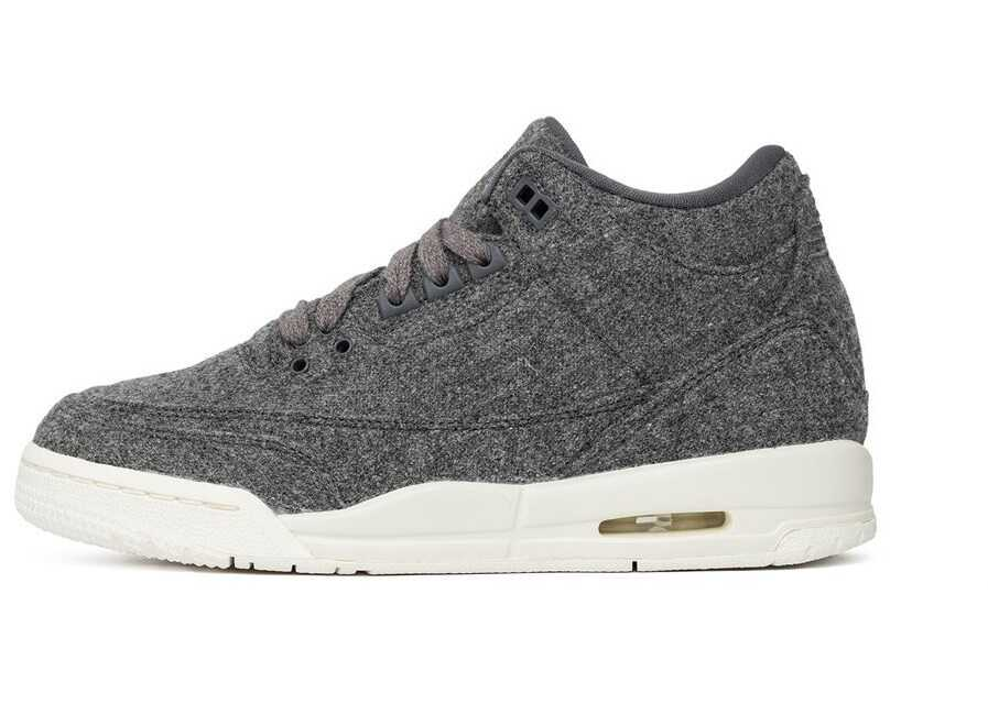 Nike Air Jordan 3 Retro BG Wool Grey