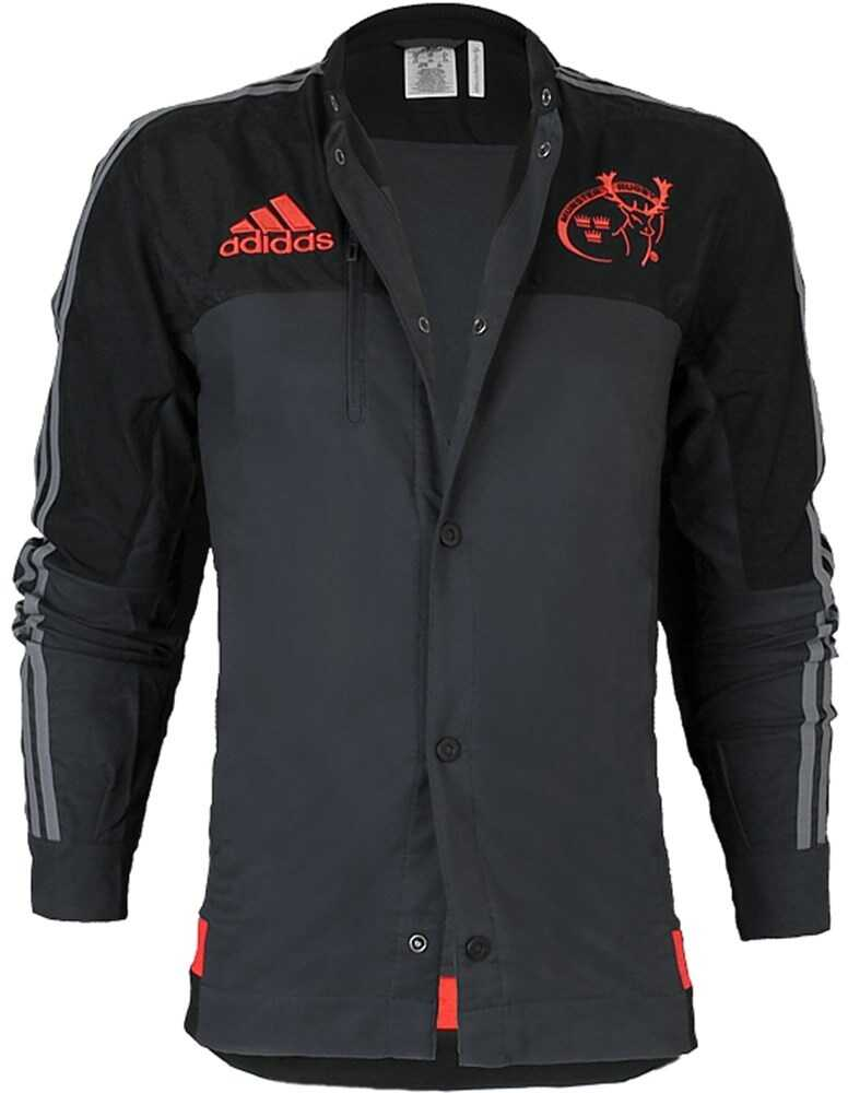 adidas Munster Anthem Jacke AC1373 NEGRE/GRI/ROȘII