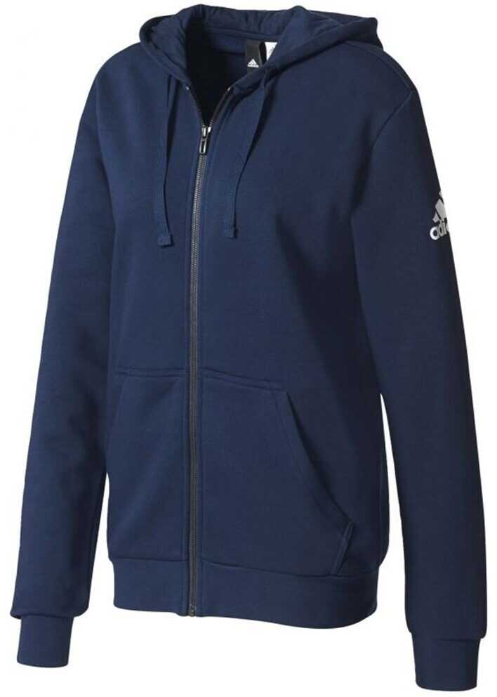 adidas Essentials Base Full Zip Hoodie Fleece M BK3718 ALBASTRU MARIM