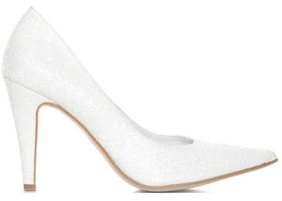 Pantofi Cu Toc Baldowski 695 White