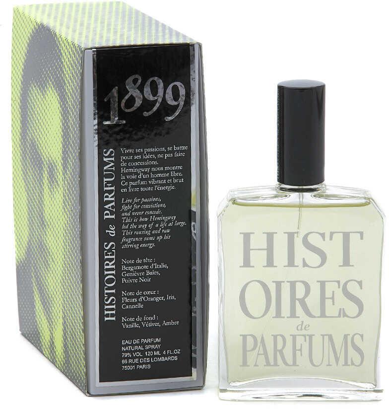 Histoires de parfums Perfume 1899 Hemingway 120Ml Transparent