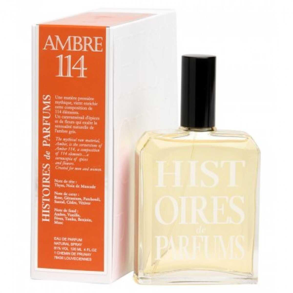 Histoires de parfums Profumo Histoires De Parfums Ambre 114 60 Ml Transparent
