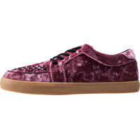 Tenisi & Adidasi Vlk No-Ring Vulcanized Velvet Trainers In Rose Femei