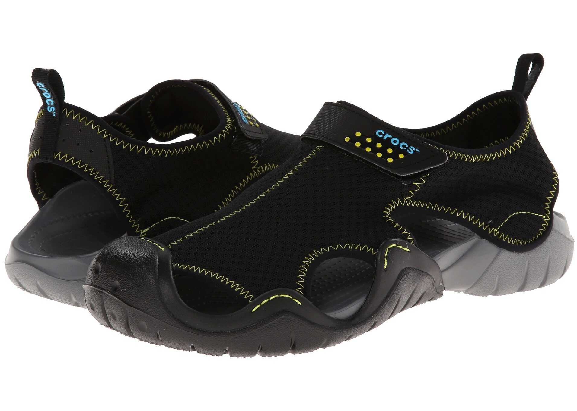 Crocs Swiftwater Sandal Black/Charcoal